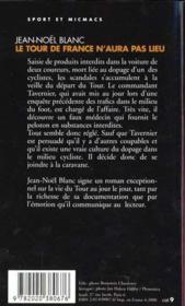 Tour De France N'Aura Pas Lieu (Serie :