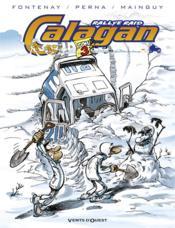 Calagan rallye raid t.3 - Couverture - Format classique