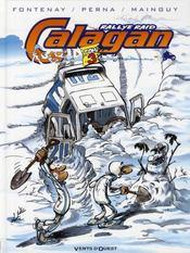 Calagan rallye raid t.3 - Intérieur - Format classique