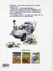 Calagan rallye raid t.3 - 4ème de couverture - Format classique