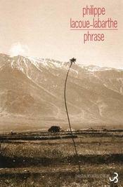 Phrase - Intérieur - Format classique