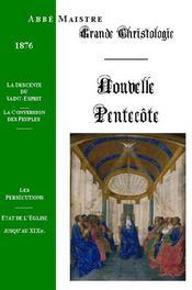 Grande Christologie Nouvelle Pentecote - Couverture - Format classique