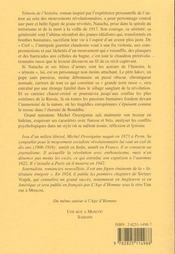 Temoin De L'Histoire - 4ème de couverture - Format classique