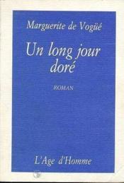 Un Long Jour Dore - Couverture - Format classique