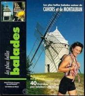 Balades autour de cahors-montauban - Couverture - Format classique