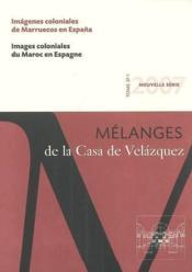 Revue mélanges N.37/1 ; images coloniales du Maroc en Espagne - Couverture - Format classique