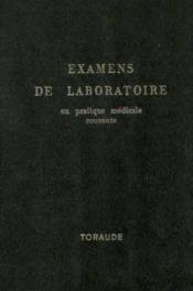 Examens de laboratoire en pratique médicale courante - Couverture - Format classique