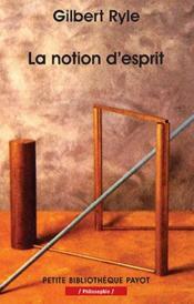 La Notion D'Esprit - Pbp N 568 - Couverture - Format classique