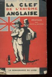 La Clef De L'Enigme Anglaise - Couverture - Format classique