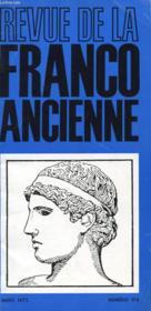 Revue De La Franco Ancienne N°174 - Couverture - Format classique