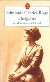 L'irrégulière - Couverture - Format classique