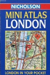 Mini Atlas, London - Couverture - Format classique