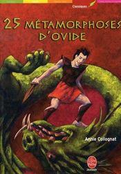 25 Metamorphoses D'Ovide - Intérieur - Format classique