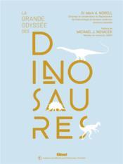 La grande odyssée des dinosaures - Couverture - Format classique