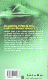 Agents speciaux t.4 ; la traque - 4ème de couverture - Format classique