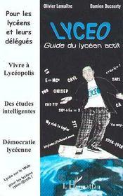 Lyceo, Guide Du Lyceen Actif - Intérieur - Format classique