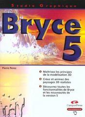 Studio Graphique ; Bryce 5 - Intérieur - Format classique