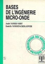 Bases de l'ingénierie micro-ondes - Couverture - Format classique