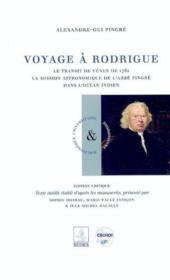 Voyage à Rodrigue - Couverture - Format classique