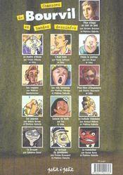 Chansons De Bourvil En Bandes Dessinees - 4ème de couverture - Format classique