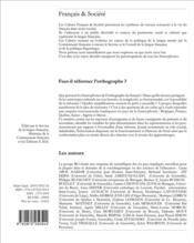 Faut-il réformer l'orthographe ? - 4ème de couverture - Format classique