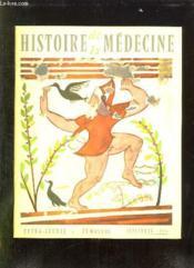 Histoire De La Medecine N° Viii Septembre 1958. Sommaire: William Hunter, John Hunter, Le Syndrome Narcotien Chez Les Champignons A Action Cerebrale... - Couverture - Format classique