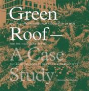 Green Roof - A Case Study /Anglais - Couverture - Format classique