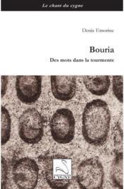 Bouria, Des Mots Dans La Tourmente - Couverture - Format classique