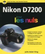 Nikon D7200 pour les nuls - Couverture - Format classique