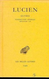 Oeuvres t.1 ; intro.gen.opuscules 1-10 - Couverture - Format classique