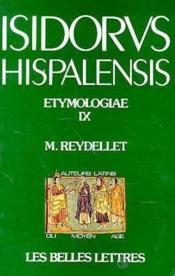 Etymologiae IX - Couverture - Format classique