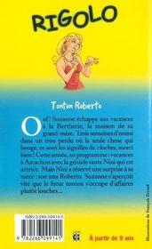 31. Tonton Roberto - 4ème de couverture - Format classique
