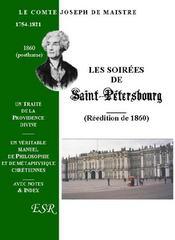 Les Soirees De Saint-Petersbourg - Couverture - Format classique