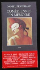 Comediennes en memoire - le temps du theatre - Couverture - Format classique