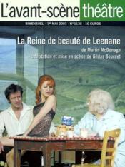 REVUE L'AVANT-SCENE THEATRE ; la reine de beauté de Leenane - Couverture - Format classique