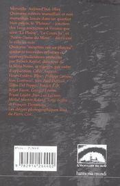 Meurtres sur un Plateau - 4ème de couverture - Format classique