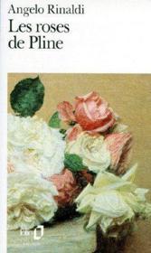 Les roses de Pline - Couverture - Format classique