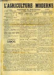L'AGRICULTURE MODERNE N° 262 - P. Mouillefert : Les bois de feu ou de chauffage. - Couverture - Format classique