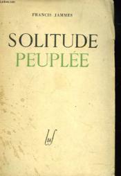 Solitude Peuplee - Couverture - Format classique