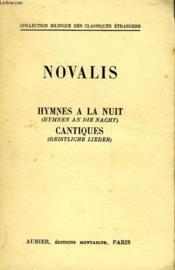 Hymnes A La Nuit - Hymnen An Die Nacht - Cantiques - Geistliche Lieder - Couverture - Format classique