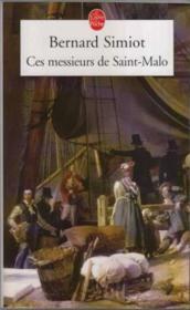 Ces messieurs de Saint-Malo - Couverture - Format classique