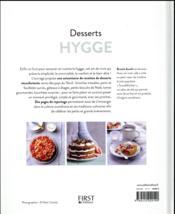 Desserts hygge - 4ème de couverture - Format classique