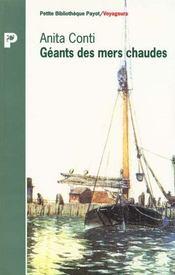 Geants des mers chaudes - Intérieur - Format classique