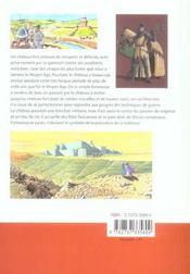 Le château fort - 4ème de couverture - Format classique
