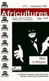 Revue Africultures N.12 ; Rires D'Afrique - Couverture - Format classique