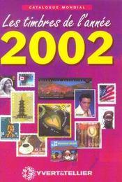 Catalogue mondial des nouveautés 2002 ; tous les timbres émis en 2002 - Intérieur - Format classique