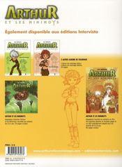 Arthur et les minimoys ; album de coloriage t.3 ; Bétamèche - 4ème de couverture - Format classique