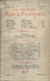 Collection La Nouvelle Revue Francaise N° 260. Cetait A Laurore Par Henri Michaux/ La Clef Des Chants Par Jacques Maritain/ De Verone A Seville. - Couverture - Format classique