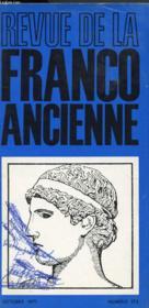 Revue De La Franco Ancienne N°172 - Couverture - Format classique