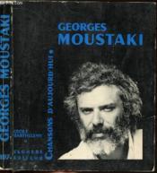 Georges Moustaki - Collection Chansons D'Aujourd'Hui N°197 - Couverture - Format classique